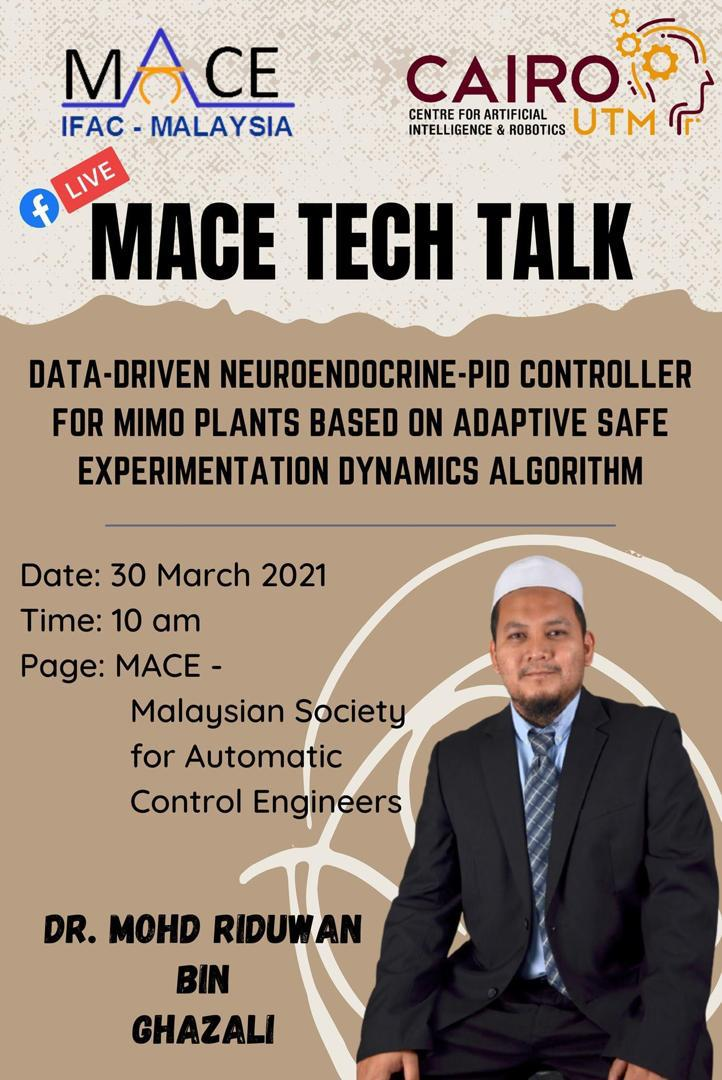 MACE TECH TALK