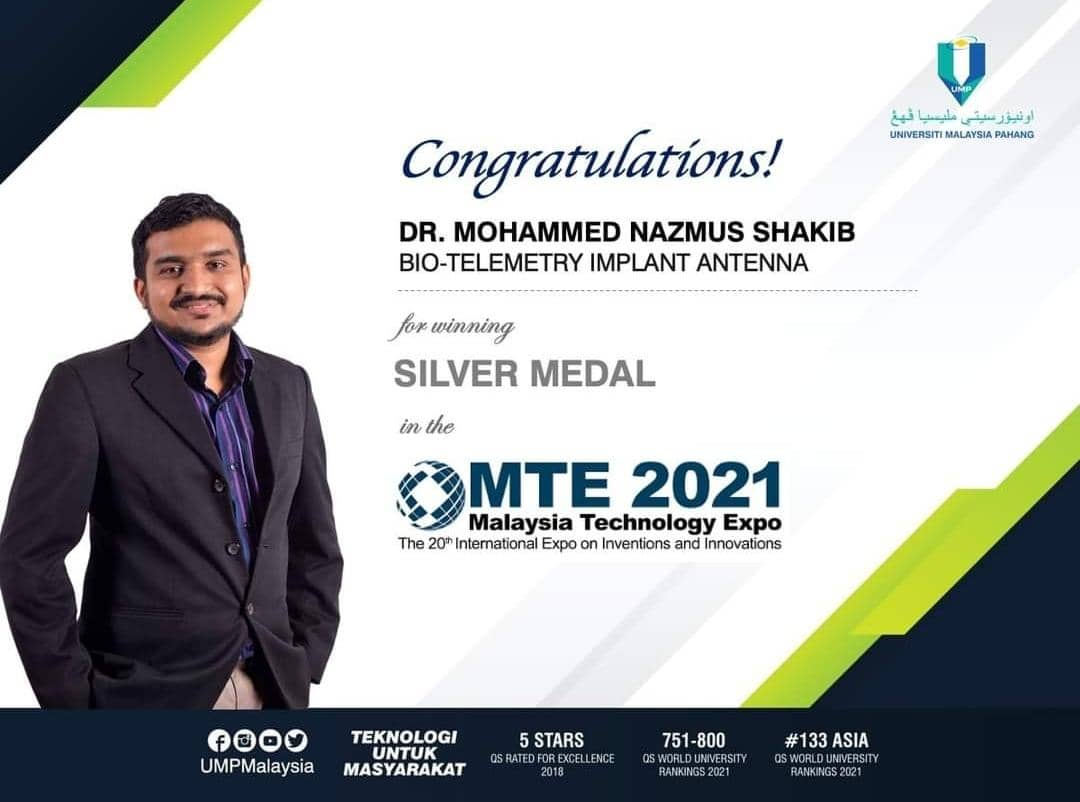 Congratulations to MTE 2021 Winner