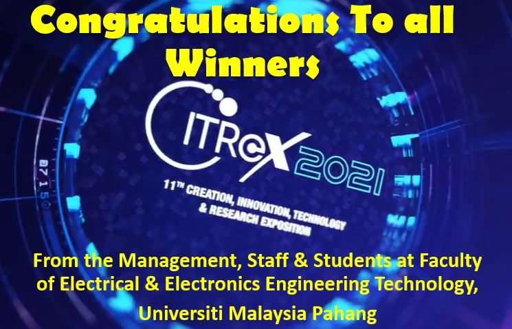 Congratulations to all Citrex 2021 Winners